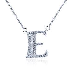 Magifas/Magifas 预发货15天工期 26英文字母  18K金豪华群镶T方钻石项链图片