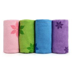 HAHTA 哈他 瑜伽垫铺巾加厚加长宽专业硅胶防滑愈加毛巾吸汗瑜珈健身图片