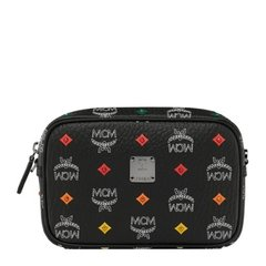 MCM 女士时尚经典LOGO印花相机包洗漱包化妆包手拿包女包图片