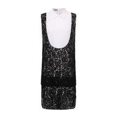 【DesignerWomenwear】MONOSPACE/单一空间拼接衬衫领女士连衣裙图片