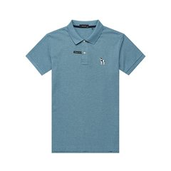 【商场同款】HAZZYS/哈吉斯 2019夏装新款男士短POLO衫时尚简约休闲T恤ASTZE09BE15图片
