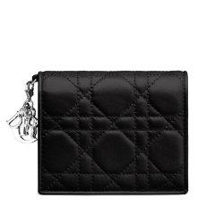 【满4000返1000】【包邮包税】DIOR/迪奥   经典款Lady Dior女士迷你小羊皮短款钱包 (3色可选)图片