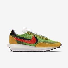 19秋冬Nike耐克 Sacai X Nike LVD WAFFLE 联名解构红蓝黄绿男子休闲潮流运动跑鞋 BV0073-300-400图片