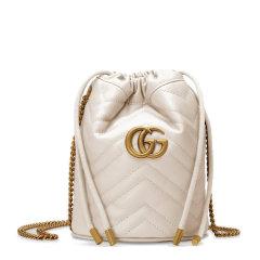 【包税】GUCCI/古驰  女士GG Marmont复古双G扣小牛皮迷你水桶包(4色可选)575163图片