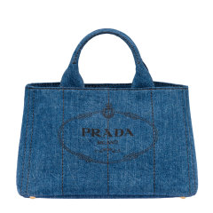 PRADA/普拉达 女士Prada Giardiniera丹宁购物包 1BG642_AJ6_V_OOO 19年秋冬图片