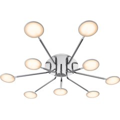 Paulmann/德国柏曼Finn多头吸顶灯 客厅吸顶灯 北欧大厅灯饰简约现代大气大灯led灯具图片
