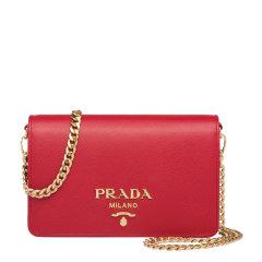 PRADA/普拉达 女士Prada Saffinano皮革链条手袋 1BP006_NZV_V_COW 19年秋冬图片