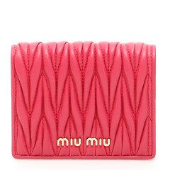 Miu Miu/缪缪 19年秋冬 logo 百搭 女包  女性 红色 钱包 5MV204 N88 F068Z图片