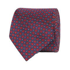 GUCCI/古驰19春夏男士蜜蜂和圆点图案真丝领带配件配饰领带473166 4E002 4174