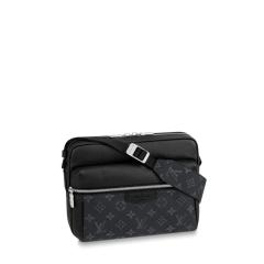 Louis Vuitton/路易威登  新款男士黑老花单肩包 M30233图片