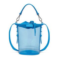 COCCINELLE/可奇奈尔 BETA CRYSTAL系列 女士PVC透明个性单肩包斜挎包抽绳水桶包手提包女包 多色可选图片