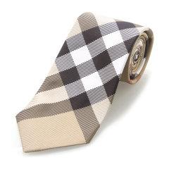 【19春夏】BURBERRY/博柏利  卡其色真丝男士领带