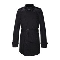 BURBERRY/博柏利 男士纯棉单排扣中长款男士风衣外套图片