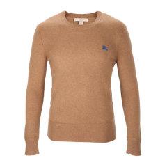 BURBERRY/博柏利 男士羊绒圆领套头长袖上衣针织衫羊绒衫图片