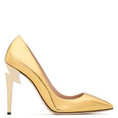 GiuseppeZanotti/朱塞佩·萨诺第女士皮革低帮高跟鞋I860003/H图片