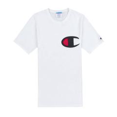 champion/冠军 男女新款 美版  大C标 logo 休闲 纯色 舒适 短袖  男士 运动 T恤 GT19 Y06820图片