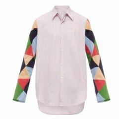 LOEWE/罗意威  男士衬衫男士长袖衬衫 H2199890CG 9990图片