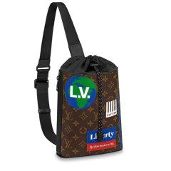 【包邮包税】Louis Vuitton/路易威登  男士单肩包2019年新款老花CHALK 单肩包M44625【预售商品 2-3周发货】图片
