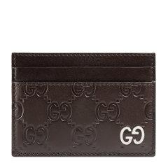 GUCCI/古驰 20春夏  男士牛皮双G标识卡包卡夹图片