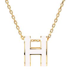 HERMES /爱马仕  项链 popH 白色(金链,玫瑰金链,银链)图片