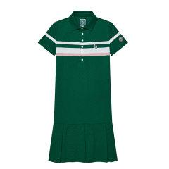 HAZZYS/哈吉斯 2019年夏季新款女装短袖polo伞裙运动女士连衣裙AQWSE09BE08图片