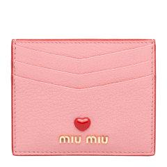 Miu Miu/缪缪 女士Love标识皮革卡片夹 5MC002_2BC3 19年秋冬图片