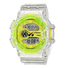 卡西欧(Casio)手表 G-SHOCK冰韧系列破冰行动透明灰防水防震时尚潮流运动男表 GA-700SK-1A图片