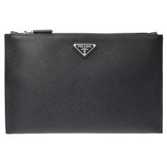 (预售)PRADA/普拉达男士牛皮手拿包 手包2NG001图片