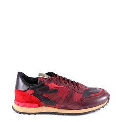 华伦天奴/Valentino 19年秋冬 跑步鞋 男性 平底鞋 拼色 休闲运动鞋 SY2S0723#TCC#K22图片