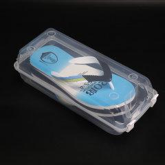 土耳其进口密封防潮鞋盒    透明防尘鞋子收纳盒  利快Gondol旅行适用多款鞋衣柜收纳(差旅必备)图片