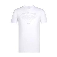 ARMANIJEANS/阿玛尼牛仔 男士T恤-简约印花logo棉质亲肤-男士短袖T恤 6X6T046J01Z图片