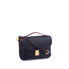 预订款2-3周发货Louis Vuitton/路易威登  女士经典款METIS纯色邮差包牛皮单肩包 (4色可选)M41487图片