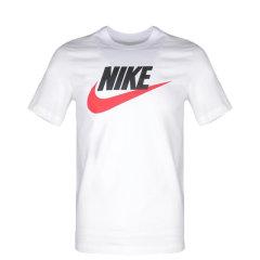 NIKE耐克男T恤 19春夏新款休闲运动服时尚舒适透气跑步健身全棉圆领短袖T恤AR5007-AR5005图片