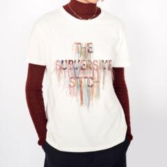 "DIOR/迪奥  19早秋女士新款""The Subversive Stitch""刺绣棉麻短袖T恤 两色可选 943T03SS428_X9000图片"