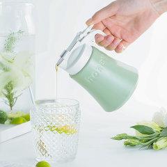 日本进口陶瓷蜂蜜瓶壶  马卡龙色调味瓶  利快zero不拉丝油瓶油壶图片
