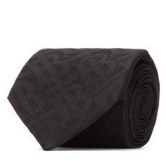博柏利/BURBERRY 19年秋冬 简约 男性 商务风 LOGO 黑色 领带 8013801