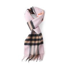 BURBERRY/博柏利男女通用款格纹羊绒围巾80047011