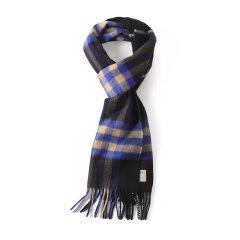 BURBERRY/博柏利男女通用款格纹羊绒围巾80047001