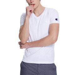 【19年春夏】冠军 Champion T恤  19年春夏 新款 男士t恤 短袖体恤 运动T恤 圆领 上衣 简约短袖 半袖 运动 上衣 运动上衣 吸汗 速干上衣 T0220-081图片