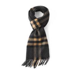 BURBERRY/博柏利男女通用款格纹羊绒围巾80047031