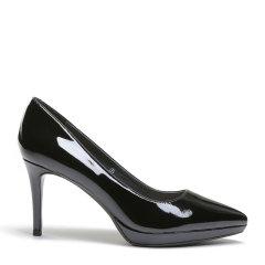 BENATIVE/本那【【可奔跑的高跟鞋】明星同款可奔跑通勤舒适高跟鞋纯色优雅细跟防水台单鞋图片