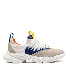【20春夏】Ferrero Ross/费列罗斯 牛皮拼接飞织 男士超轻休闲运动鞋 小白鞋FR881908图片