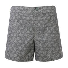 【19春夏】BURBERRY/博柏利 男士短裤 印花图案黄棕色男士短裤图片