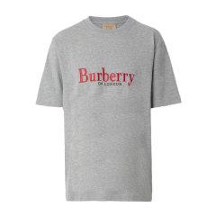 BURBERRY/博柏利【20春夏】男装 服饰 男装 情侣款 棉质典藏绣标半袖 男士短袖T恤 80078图片