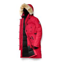 Canada Goose 加拿大鹅 19秋冬 女士纯色白鸭绒中长款连帽羽绒服图片
