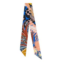 HERMES/爱马仕 女士 Twilly Jaguar Quetzal 小丝巾 H063168S-BA9906图片