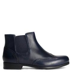 Quarvif/Quarvif  19新品女式手工皮鞋短靴【法国进口小牛皮 橡胶底】QWG65535图片