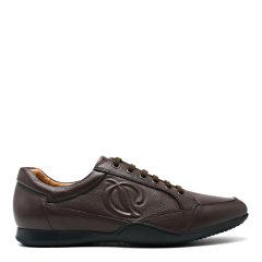 【2019春夏】S.T. DUPONT/都彭 牛皮百搭舒适小黑鞋透气男士休闲运动鞋L25155310图片