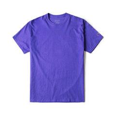 Champion 2020春夏情侣款美版冠军男女明星同款袖口logo短袖T恤休闲偏大需拍小一 码 情人节T425图片