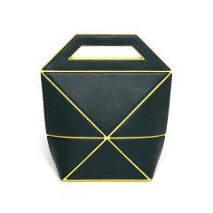 【Designer Bags】YEE SI/YEE SI Facet Medium 女士折叠包牛皮单肩斜挎手提包(白色/黑色为预售款)图片